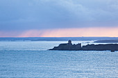 The Fort la Latte in the morning light. Brittany, France