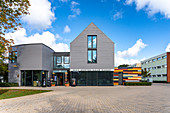 The Max Hünten Haus is the center of photography in Zingst, Mecklenburg-Western Pomerania, Germany.