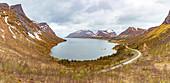 Bergsbotn fjords on Senja island, Norway
