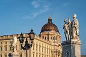Berlin City Palace, facade, Berlin, Germany,