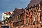 """Lagerhaus am Zollkanal an der Kornhausbrücke, Verlagsgebäude """"Der Spiegel"""", Speicherstadt, Hamburg \n"""