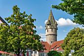 The green tower, Ravensburg, Baden-Wuerttemberg,