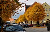 Moenchenstrasse, Jueterbog, Flaeming, State of Brandenburg, Germany