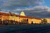 Breite Strasse, Film Museum, City Palace, Nikolaikirche, Potsdam, Brandenburg State, Germany