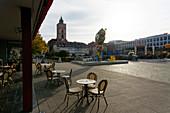 Brunnenplatz, Marienkirche, Frankfurt / Oder, State of Brandenburg, Germany