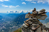 The Mutspitze 2294 m above sea level, the local mountain of Tirolo in the Texel Group Nature Park, in South Tyrol.