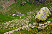 In the South Tyrolean Texelgruppe Nature Park, near the Pfitscher and Kasersee lakes, there is the Oberkaseralm, which is open in summer.