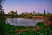 Vogelinsel im Altmühlsee, Muhr am See, Fränkisches Seenland, Gunzenhausen, Mittelfranken, Franken, Bayern, Deutschland, Europa
