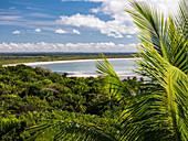 Sandy beach, Boipeba Island, Bahia, Brazil, South America