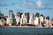 Skyline of Salvador de Bahia, Brazil, South America