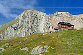 Sudeten German hut, Granatspitzgruppe, Hohe Tauern, Hohe Tauern National Park, East Tyrol, Austria