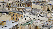Blick über die Dächer von Mdina, Gozo, Malta, Europa