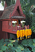 Thailand, Bangkok,  Jim Thompson House, spirit house,