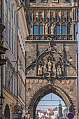 Old Town Bridge Tower is a gothic monument located in Prague, Czech Republic. It was built in the late 14th century, during the rule of the Emperor Charles IV. It was designed by the architect Petr Parléř.