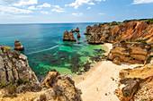 Praia do Camilo, Beach, Lagos, Algarve, Portugal