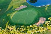Aerial view of golf course Huelva Province, Spain