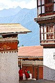 Tongsa Dzong, Buddhist monastery and fortress, in Tongsa, Bhutan