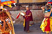 Tamshing Phala Chhoupa festival, Tamshing Monastery, near Jakar, Bumthang, Bhutan