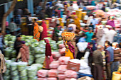 Fruit & vegetable market, Udaipur, Rajasthan, India