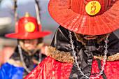 Palace Guard at Gyeongbokgung, Seoul, South Korea