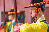 Royal Guards at Deoksugung Palace, Seoul, Korea