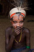 Arbore boy, Omo Valley, Ethiopia