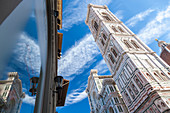 Tower of Duomo Campanile, Florence Tuscany Italy\n