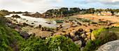 Beach, Ploumanac'h, Cote de Granit Rose, Cotes d'Amor, Brittany, France