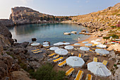 St Pauls Bay Lindos Rhodes Island Dodecanese Greece