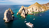 Natural arch of Cabo San Lucas in Baja California Sur in Mexico