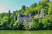 Historisches Schloss in Liverdun an der Mosel, Frankreich
