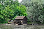 Alte Wassermühle Babicev Mlin an der Mur, bei Verzej, Slowenien