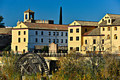 An old mill on the Guadalquivir River, Cordoba, Andalusia, Spain