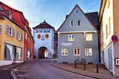 Lindauer Tor in Memmingen, Bayern, Deutschland