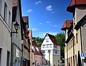 Turmhaus in Hersbruck, Mittelfranken, Bayern, Deutschland