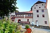Kaiserpfalz in der Altstadt von Forchheim, Ober-Franken, Bayern, Deutschland