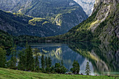 In the afternoon, the Obersee and the Fischunkelalm are in the shade.