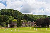 Village cricket, Stinchcombe, Glos, UK