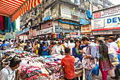 Crawford Market area, Mumbai, India