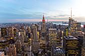 VIew over Central Park Manhattan, New York, USA