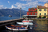 In the afternoon it gets a little quieter in Malcesine.