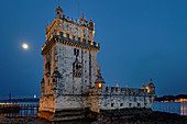 The symbol of the city: The Torre de Belem once protected Lisbon.