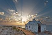 The Ermida da Memoria chapel on Cabo Espichel.