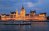 Hungary, Budapest, Parliament, Országház, Danube river,