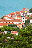 Baska, island of Krk, Kvarner bay, Adriatic coast, Croatia