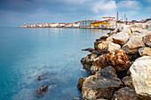 View of the Piran promenade, Primorska, Istria, Adriatic Coast, Slovenia
