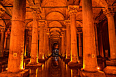 Cistern Basilica,Istanbul, Turkey,Turkish
