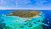 Budelli Island, Maddalena Archipelago, Olbia-Tempio, Sardinia, Italy