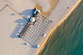 Su Giudeu beach near Chia, Domus de Maria, Cagliari, Sardinia, Italy