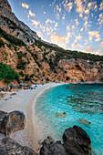 Italy, Sardinia island, Biriola beach at Orosei gulf, province of Nuoro